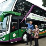 Lorena Transport Tbk dan Karina Transport Luncurkan 12 Armada Bus Double Deckers